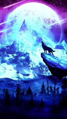 Wolf moon [2160x3840]