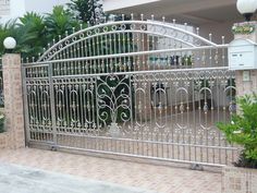 Home Gate Design, Grill Gate Design, Fence Gate Design, Steel Gate Design, Iron Gate Design, Door Design, House Design, Garden Retaining Wall, Stainless Steel Railing