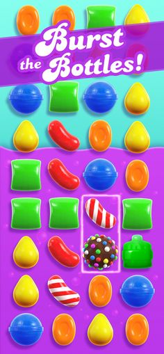 Switch and match scrumptious candies to make mouth-watering combinations!