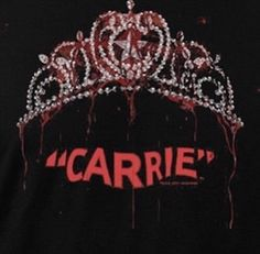 carrie, horror, and red image