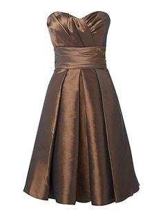 bridesmaid dress but gold