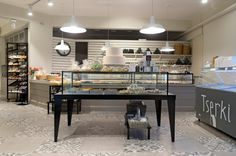 A delicious pastry shop concept on Paros island designed by Stirixis Group. Read the case study here.
