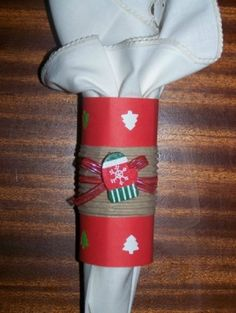 Homemade Napkin Rings | ... tradition. This is a guide about homemade Christmas napkin ring ideas
