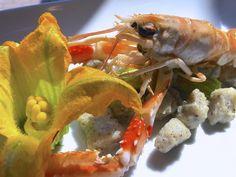 Gnocchi di grano saraceno BIO con scampi e fiori di zucca #primipiatti #foodlugano #lugano #foodlovers #foodstyling #cucinaitaliana
