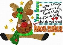 200fAMOUSREINDEER.jpg-  It is a much better day in the embroidery world.