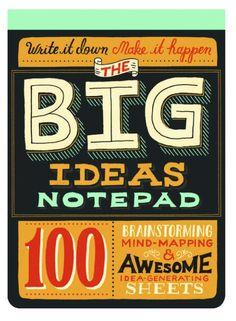 The BIG ideas notepad
