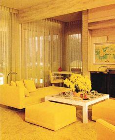 1970s Living Room Decor