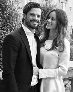 Sweden's Prince Carl Philip and his wife Princess Sofia released a new black and white official photos to celebrate the announcement that they are expecting their first child.  In a statement published on Facebook on Thursday October 15, 2015