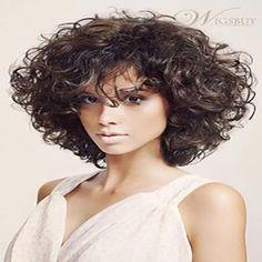 30 Mejores cortes de pelo corto rizado - Sobre El Cabello