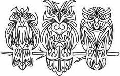 birds - owls   Urban Threads: Unique and Awesome Embroidery Designs