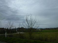 Macchina, Siena→San Gimignano, Italia (Marzo)