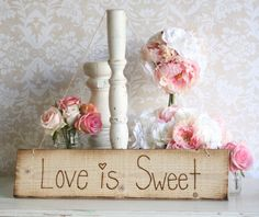 sweet but too girly? rustic old barn wood hand engraved