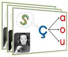 Affiches sur les lettres S, G et C.