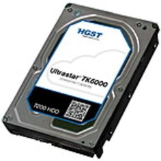 NOB HGST Ultrastar 7K6000 HUS726040AL4211 4 TB 3.5 Internal Hard Drive - SAS - 7200rpm - 128 MB Buffer