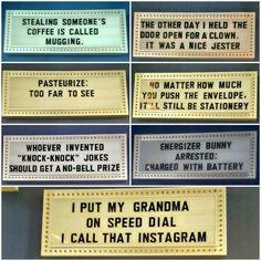 The best of puns - humor Puns Jokes, Corny Jokes, Funny Puns, Funny Quotes, Funny Stuff, Funny Things, Random Stuff, Funny Captions, Haha