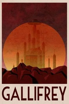 Gallifrey Retro Travel Poster Plakat - på AllPoste… Take a look at a mixture of pins all to do with the topic of Doctor Who. Never before has there been a better time to Pin your favourite science fiction show Doctor Who Poster, Doctor Who Art, Doctor Who Room, Travel Wall Art, Cool Posters, Retro Posters, Vintage Travel Posters, Poster Vintage, Retro Vintage