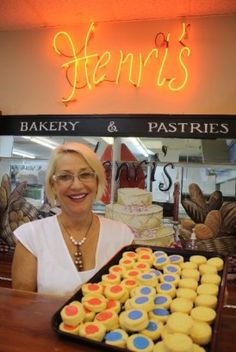 Henri's Bakery provided desserts for the Open Hand Party in the Kitchen 2012