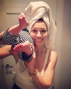 Pin for Later: The Most Precious Photos of Justin Timberlake and Jessica Biel's Baby Boy