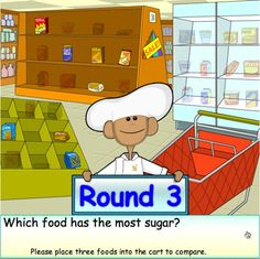 Ride the Food Label Game- Fun Game for Kids, Reading Food Nutrition Labels, Learning Nutrition Labeling Information- good for lower level MS class