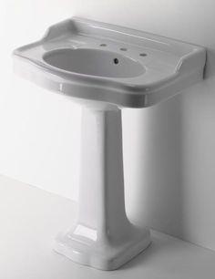 palladio view waterworks pedestal lavatory lavatory sink pedestal sink ...