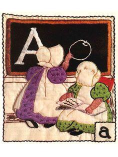 The Sunbonnet Alphabet Quilt