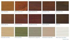 Cedar Fence Stain Colors Stains Decks Etc Pinterest