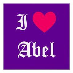 I love Abel #names