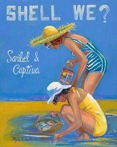 Old Florida, Vintage Florida, Florida Travel, Beach Art, Ocean Beach, Vintage Advertisements, Vintage Ads, Tourist Info, Sea Crafts