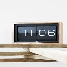 LEFF amsterdam/ブリック置き時計