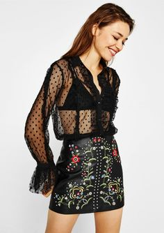 Minispódniczka ze sztucznej skóry - New - Bershka Poland Fashion 101, Fashion Outfits, Womens Fashion, Leather Mini Skirts, Inspiration, Collection, Black, Style, France