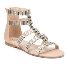 Candie's+Women's+Jeweled+Gladiator+Sandals