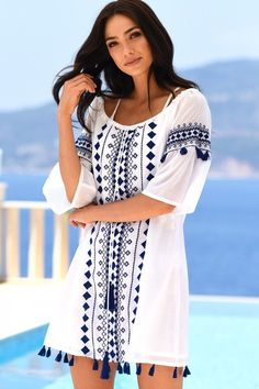 2bd735c63b2d4 Beach Kaftans and Designer Beach Cover Ups by Seafolly and many more