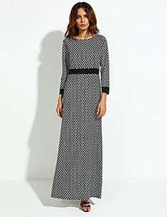 Women's+Going+out+Street+chic+Shift+Dress,Print+Round+Neck+Maxi+Long+Sleeves+Cotton+Fall+Mid+Rise+Micro-elastic+Opaque+–+CAD+$+22.24 Dresses For Sale, Dresses For Work, Street Chic, Dress Party, Going Out, Cold Shoulder Dress, Fall, Long Sleeve, Sleeves