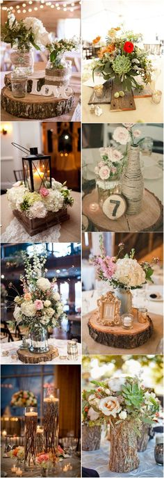Rustic Wedding Centerpieces Wedding centerpiece examples and ideas for that pleasing rustic chic wedding centerpieces receptions ideas Wedding idea number 4375832268 generated on 20190421 Rustic Country Wedding Decorations, Rustic Wedding Centerpieces, Rustic Theme, Wedding Table, Rustic Decor, Country Weddings, Wedding Rustic, Rustic Chic, Chic Wedding