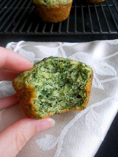 Culinary Couture: Spinach Banana Muffins