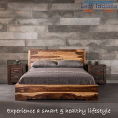 This is a Bedroom Interior Design Ideas. House is a private bedroom and is usually hidden from our guests. Wood Bed Design, Bed Frame Design, Diy Bed Frame, Bedroom Bed Design, Bedroom Sets, Diy Bedroom Decor, Home Decor, Queen Bedroom, Bedrooms