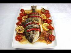 Dorada al horno con verduras | RECETA DE NAVIDAD