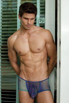 sheer gallery photo in nude men underwear