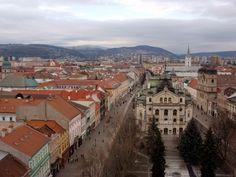 Košice - výhľad z veže