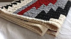 Hey, I found this really awesome Etsy listing at https://www.etsy.com/listing/178968049/geometric-western-horse-blanket-quilt