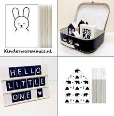 #dots #kidsroom #decoration #monochrome #textbord #kinderwarenhuis.nl