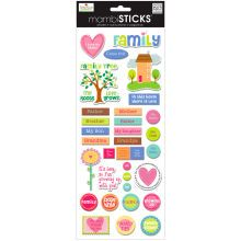 mambiSTICKS Embellishments, Family Tree