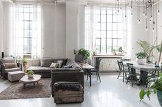 INDUSTRIAL LOFT decoración, ideas para la casa, On top - Macarena Gea