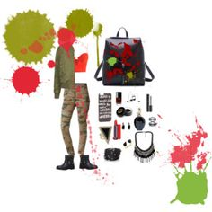 Fun Art #red&green#