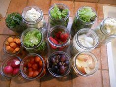 Mason Jars, the Key to Fresh Veggies from My Life as Robin's Wife.  Seal in the freshness!  #mason jars #fresh