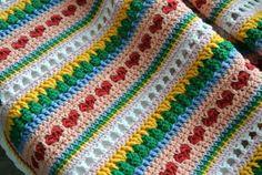 Mixed Stitch Blanket Tutorial