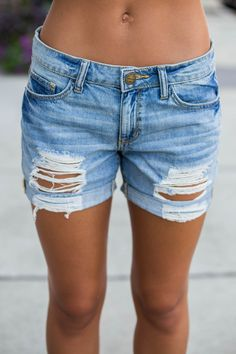 Weekend Jam Jean Shorts