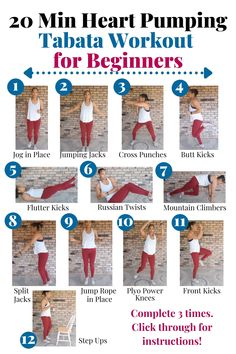 8 At Home Beginner Workouts For Women (No Equipment)