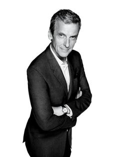 """vanityfair:Photograph by Rankin. HE HAS been rangy and lean for the better part of his public life. However, he insists, there was a """"Fat Peter"""" career-downturn period in which his wife—actress and TV producer Elaine Collins, to whom he has been married since 1991—told him, """"This is why you're not getting any work: because you look like a sofa, basically."""""""