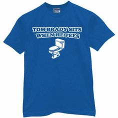 BRADY PEES T-Shirt for New York NY Giant Fans - Football